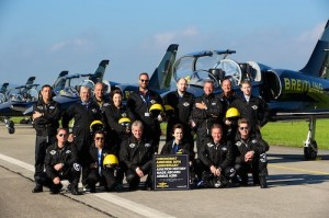 Breitling Chronomat Airborne Launch