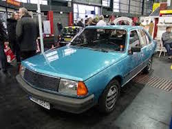Renault 18 Turbo Blue