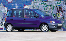 Fiat Multipla Purple