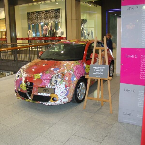 Alfa Romeo's Artistic Collaboration
