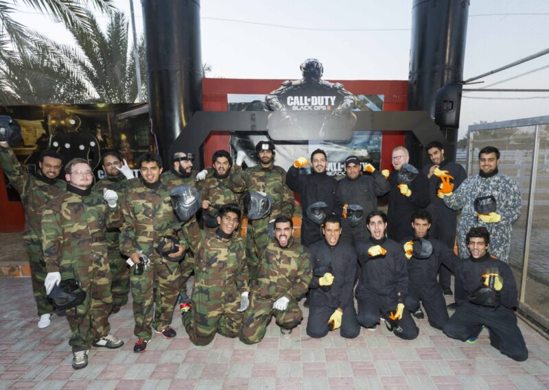 Call Of Duty Infiltrates The Middle East For Black Ops 3 Launch