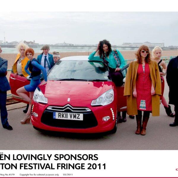 Citroën Lovingly Sponsors Brighton Festival Fringe 2011