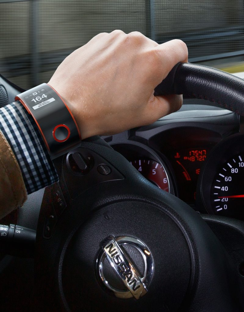 Nissan enters the wearable technology space
