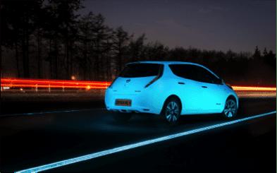 Nissan – Glow In The Dark Leaf
