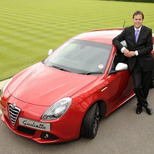 "Alfa Romeo says ""We're In"" to TV Dragon Peter Jones"