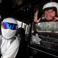 The Stig, A Black Cab…And Chris Evans