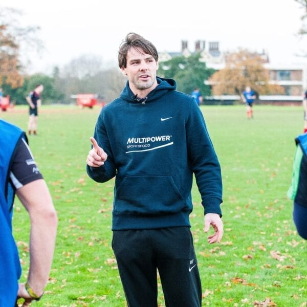 Ben Foden heads back to University with Multipower
