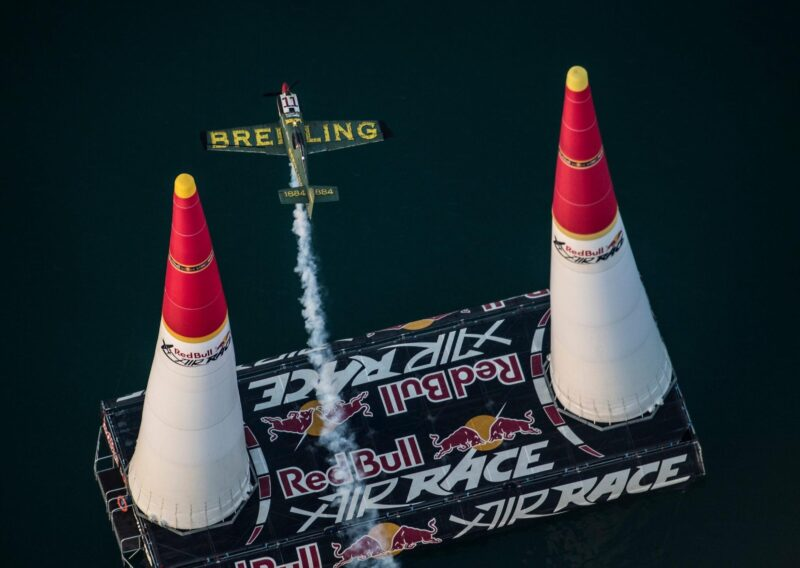 Flying high! Breitling pilot Mika Brageot makes Master Class debut at the Abu Dhabi Red Bull Air Race