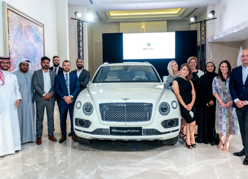 Bentley Bentayga Mulliner Pearl of the Gulf edition