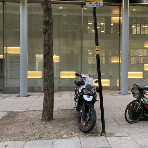 Motorcycle Parking – Where are motorcycles allowed to park?