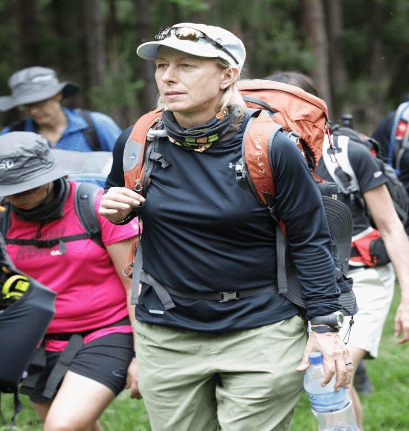 Laureus – Navratilova Kilimanjaro Climb