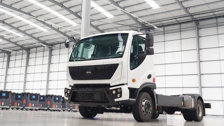 Performance Charges Ahead With Electric Truck Pioneer, Tevva Motors