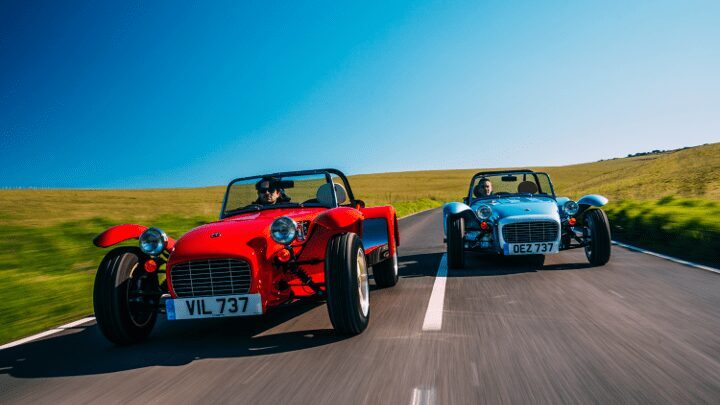 Caterham – Super Seven Launch