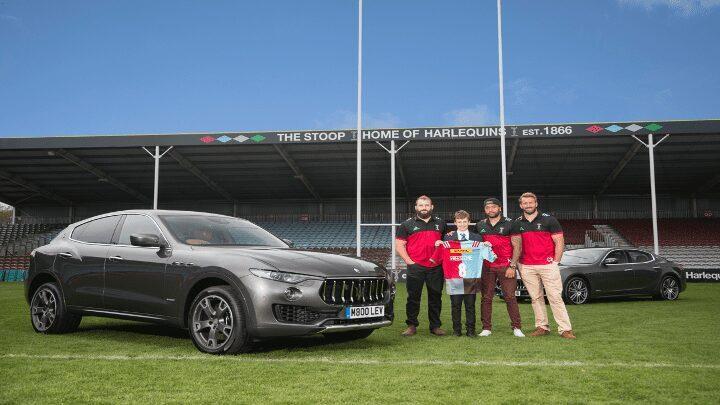 Maserati – Harlequins Rugby Sponsorship