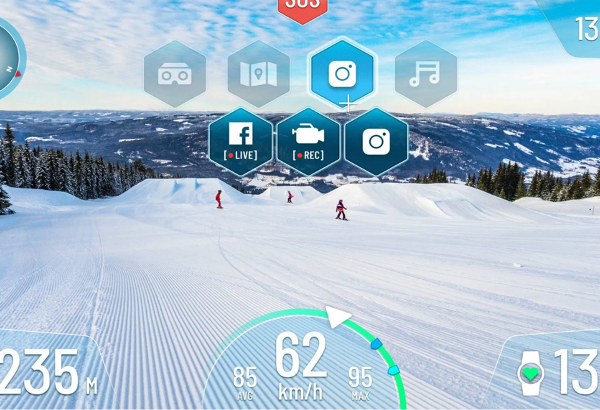 RideOn – The Worlds First Smart Ski Goggles